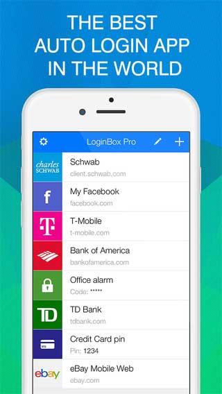 تطبيق LoginBox Pro لحفظ معلومات الدخول للمواقع - مجانا لوقت محدود