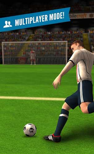 لعبة Flick Shoot 2 تحدي تسجيل الأهداف لمحبي كرة القدم