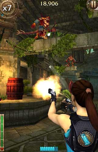 لعبة Lara Croft: Relic Run المميزة في إصدار جديد