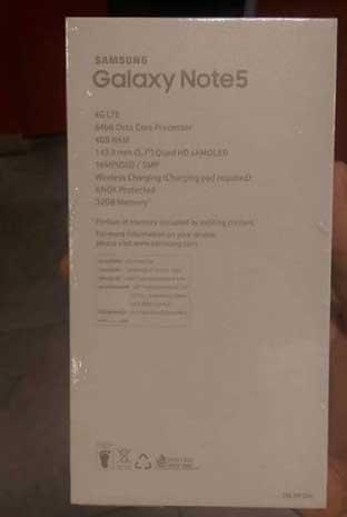 المزيد من الصور الحقيقة المسربة لجالاكسي نوت 5، وجالاكسي S6 إدج بلس