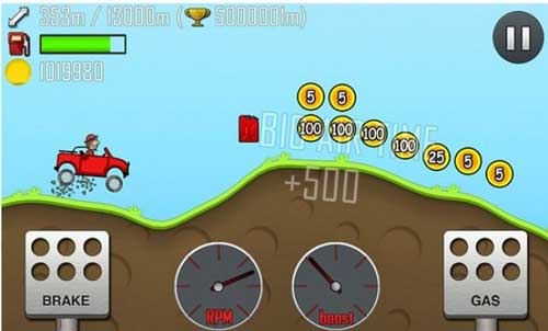 لعبة Hill Climb Racing - تسلية حقيقة لكن احذروا الادمان