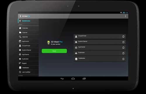 تطبيق SD Maid لتنظيف جهازك من الملفات الزائدة - مجانا