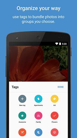 تطبيق Focus : تطبيق رائع لعرض و تنظيم الصور بشكل مميز - مجاني للأندرويد !