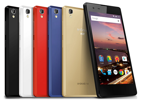 هاتف Infinix HOT 2 : أول هاتف ذكي يصل الدول العربية ضمن برنامج Android One !