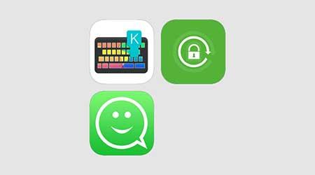 Photo of عرض خاص: لوحة مفاتيح، قفل واتس آب، ملصقات واتس آب – في مجموعة واحدة – مميز جدا