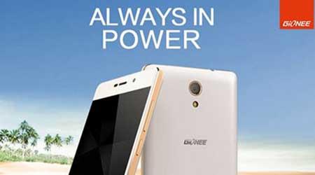 الإعلان عن هاتف Gionee Marathon M4 ببطارية بسعة 5000 ملي أمبير !