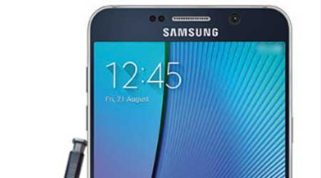 صورة هاتف Galaxy Note 5 قد لا يدعم الذواكر الخارجية microSD !