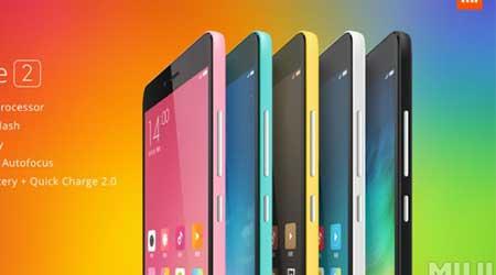 شركة Xiaomi تعلن رسميا عن جهاز Xiaomi Redmi Note 2