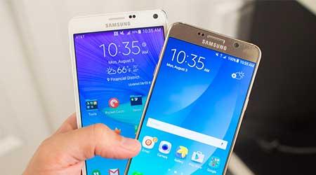 جهاز Galaxy Note 5 رسميا: المواصفات ، المميزات ، السعر !