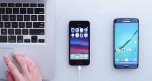 فيديو: سامسونج تقدم طريقة الانتقال من الأيفون إلى الجالاكسي