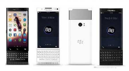 صور جديدة مسربة لجهاز بلاكبيري BlackBerry Venice