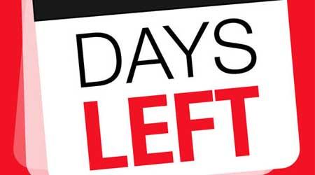 تطبيق Days Left - عداد وقت تنازلي لحساب موعد المناسبات المهمة