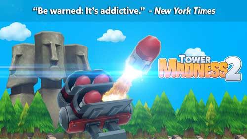 لعبة Tower Madness 2 المميزة متوفرة من جديد