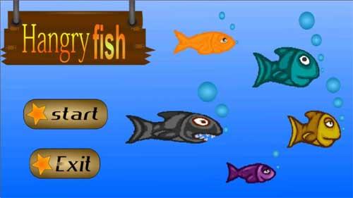 لعبة Hungry fish السمك الغاضب