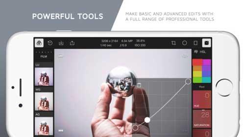 تطبيق Polarr Photo Editor