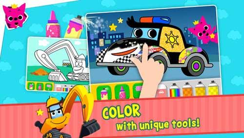لعبة PINKFONG Car Town للأطفال المحبين للسيارات