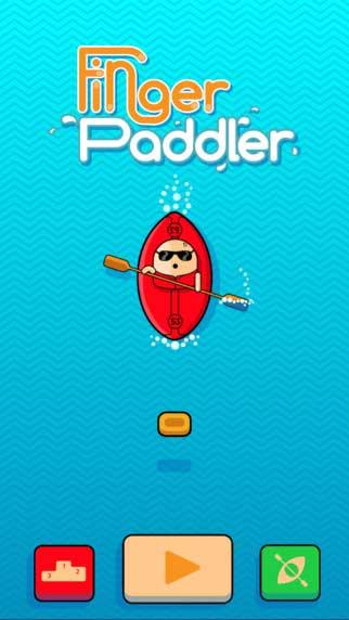 لعبة Finger Paddler التحدي الكبير في قالب جميل ومسلي