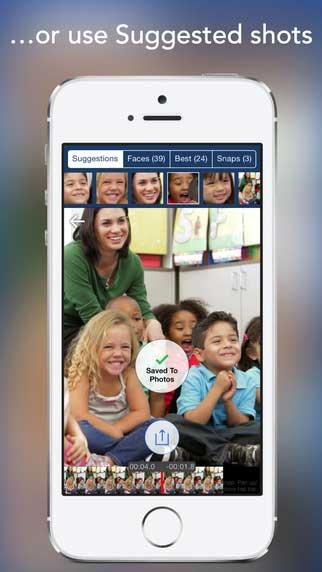 تطبيق SnapStill لاستخراج الصور من أي فيديو