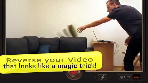 تطبيق Reverse Movie FX لإنشاء مقاطع فيديو سحرية