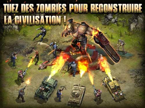 لعبة Z War أفضل الألعاب الاستراتيجية الحديثة للاندرويد