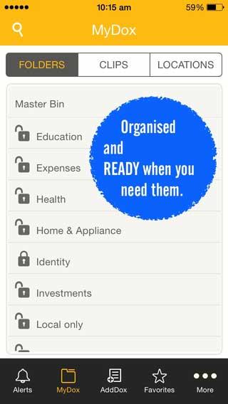 تطبيق ALLDOX لحماية مستنداتك ومعلوماتك