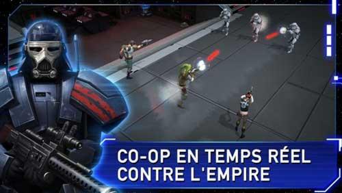 لعبة Star Wars™: Uprising لقتال ومحاربة الفضائيين على الأندرويد