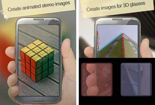 تطبيق 3D Camera لالتقاط صور ثلاثية الأبعاد بطريقة جميلة