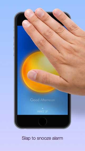 تطبيق Wake Alarm Clock منبه ذكي يعمل بالإيماءات