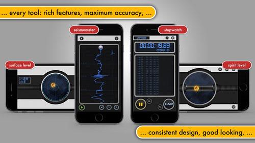 تطبيق Multi Measures عدة أدوات قياس في تطبيق واحد