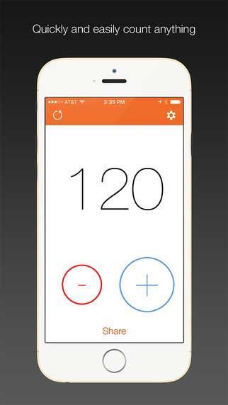 تطبيق Countr لحساب النقاط بسرعة