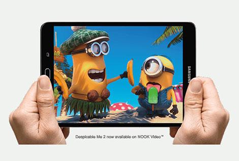 الإعلان عن الجهاز اللوحي Galaxy Tab S2 NOOK !