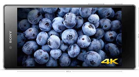 صورة رسمياً – هاتف Sony Xperia Z5 Premium : أول هاتف بشاشة بدقة 4K فائقة الجودة !