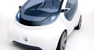سيارة آبل الذكية - صورة تخيلية