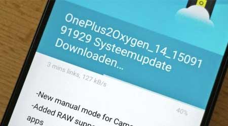 تحديث جهاز OnePlus 2 بإصدار OxygenOS 2.1.0