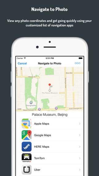 تطبيق Navigate to Photo لمعرفة مكان التقاط الصور
