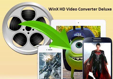 برنامج WinX HD Video Converter لتحويل الفيديو لصيغ تناسب الأيفون والأندرويد