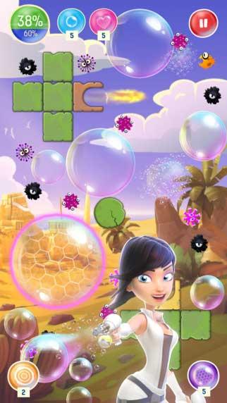 لعبة Bubble Nova لجميع محبي ألعاب الألغاز