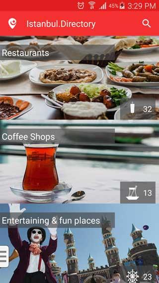 تطبيق Istanbul.Directory دليلك الكامل لاكتشاف مدينة اسطنبول