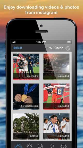 تطبيق Grabber لتحميل وإعادة نشر الفيديو والصور في انستغرام