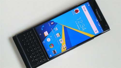 المزيد من الصور الحقيقية لجهاز BlackBerry PRIV - السعر الافتراضي
