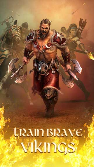 لعبة Vikings: War of Clans
