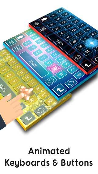 لوحة المفاتيح Live Keyboards المميزة بتصميم فريد ومزايا رائعة