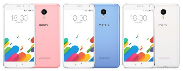 شركة Meizu تلعن رسميا عن جهازها Blue Charm metal