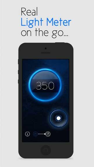 تطبيق Lux Light Meter للحصول على ضوء معتدل عند التصوير