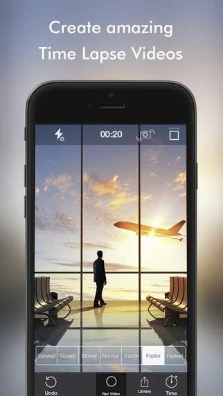 تطبيق Phantom Camera لتسريع الفيديو والتصوير البطيء
