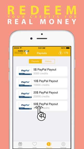 تطبيق Make Money لربح المال من الأيفون والأندرويد