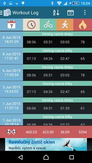تطبيق Interval Timer مؤقت لتنظيم المهام للاندرويد