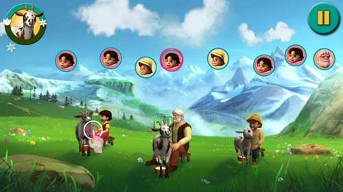 لعبة هايدي - مغامرة في جبال الألب - تعليمية ترفيهية مسلية