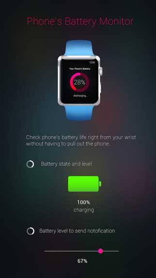تطبيق Battery Watch لمعرفة حالة وإدارة بطارية الأيفون