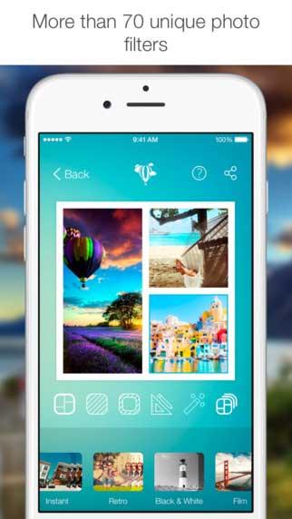 تطبيق Justframe Pro لدمج الصور في إطارات جميلة